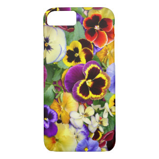 Pretty Pansies iPhone 7 Case