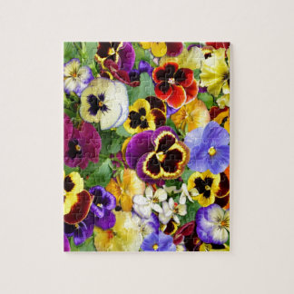 Pretty Pansies Jigsaw Puzzle
