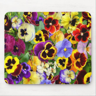 Pretty Pansies ~ Mousepad