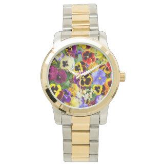 Pretty Pansies Watch