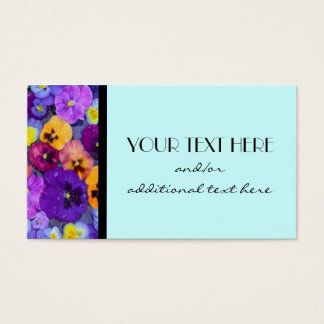 Pretty Pansy Business Card