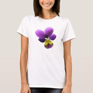 Pretty Pansy Ladies T Shirt