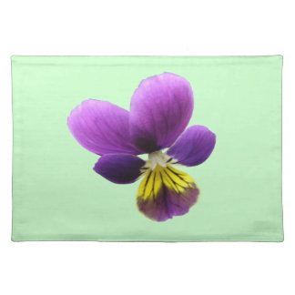 Pretty Pansy Placemat