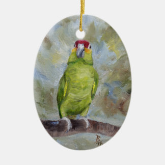 Pretty Parrot II Christmas Ornament