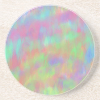 Pretty Pastel Abstract Background Pattern Drink Coasters