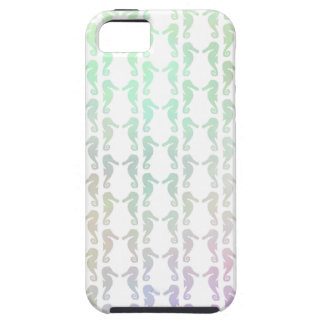 Pretty Pastel Color Seahorse Pattern iPhone 5 Covers