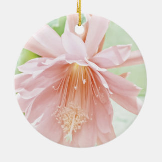 Pretty Pastel Flower Christmas Ornaments