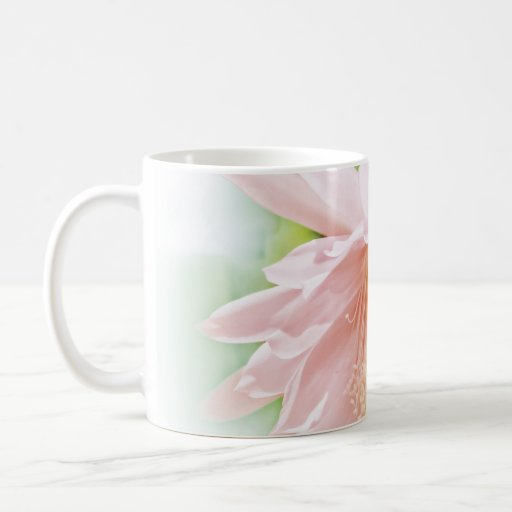 Pretty Pastel Flower Mug