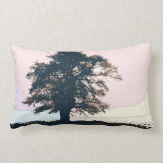 Pretty Pastel Tree Art Cushion