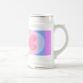 pretty pastels coffee mugs