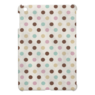 Pretty Pastels Polka Dot Pattern Case For The iPad Mini
