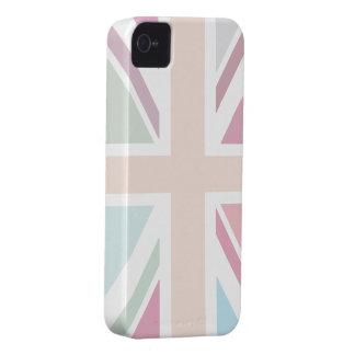Pretty Pastels Union Flag iPhone 4 Case