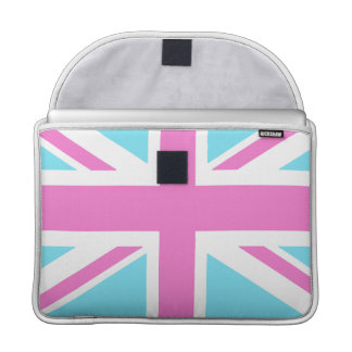 Pretty Pastels Union Flag Macbook 15 Inch Cover MacBook Pro Sleeve