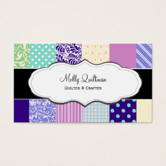 Pretty Patchwork Quilt Business Cards