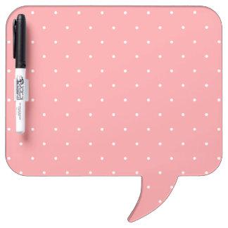 Pretty Pattern Gift Pink Polka Dot Dry-Erase Boards