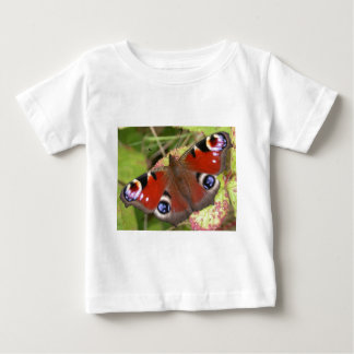 Pretty Peacock Butterfly Baby T-Shirt