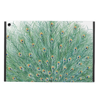 Pretty Peacock Feathers Cover For iPad Air