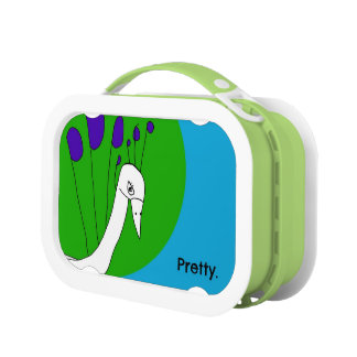 Pretty Peacock Lunchbox