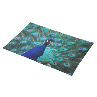 Pretty Peacock Placemat