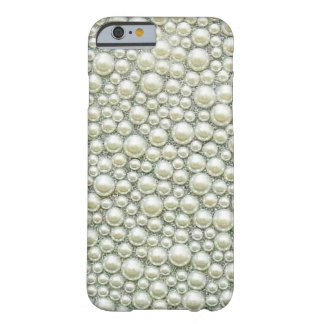 Pretty Pearl Bling Glitter iPhone 6 case Barely There iPhone 6 Case