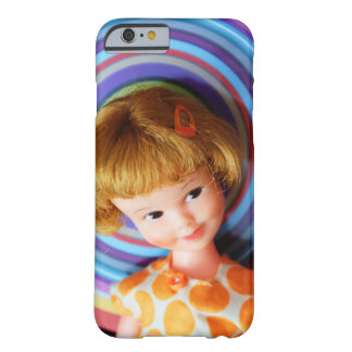 Pretty Penny Brite with circles Barely There iPhone 6 Case