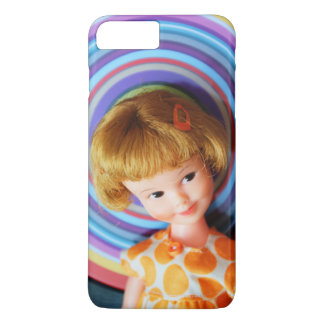 Pretty Penny Brite with circles iPhone 7 Plus Case