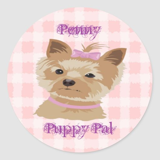 Pretty Penny Puppy Pal Fun Stickers