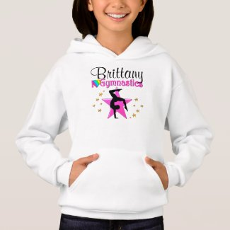 PRETTY PERSONALIZED I LOVE GYMNASTICS SWEATSHIRT