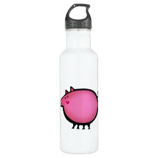 Pretty piglet 710 ml water bottle