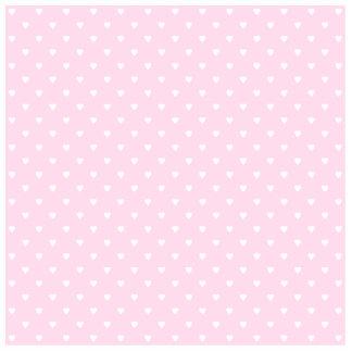 Pretty pink and white love heart pattern photo cutouts