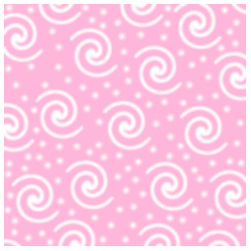 Pretty Pink and White Swirls and Dots. Cut Outs