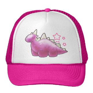 Pretty Pink Baby Dinosaur Trucker Hat
