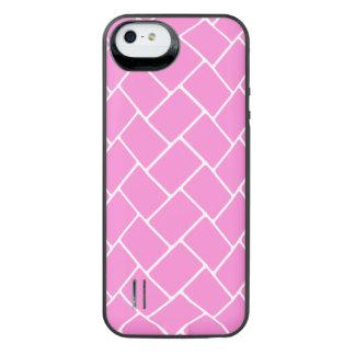 Pretty Pink Basket Weave iPhone 6 Plus Case