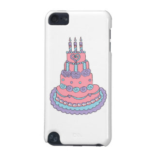 Pretty Pink Birthday Cake iPod Touch (5th Generation) Cover
