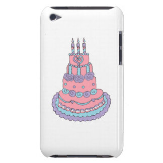 Pretty Pink Birthday Cake iPod Touch Cover