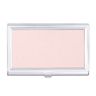 Pretty Pink Blush Case For Business Cards