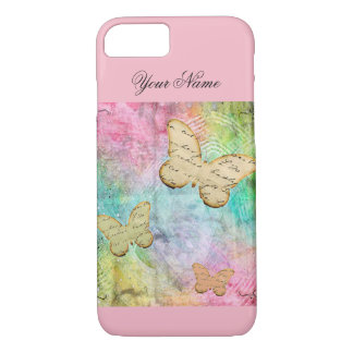 Pretty Pink Butterfly Iphone Case