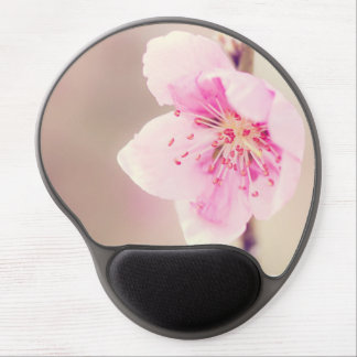 Pretty Pink Cherry Blossom Gel Mouse Pad