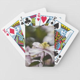 Pretty Pink Clematis flower Card Decks