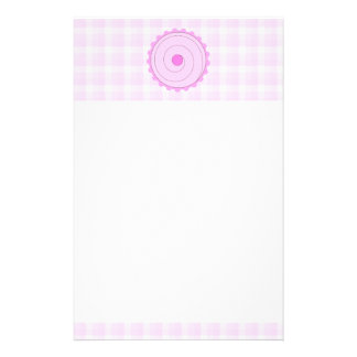 Pretty Pink Cupcake. Stationery Design