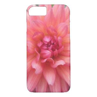 Pretty Pink Dahlia Flower iPhone 7 Case