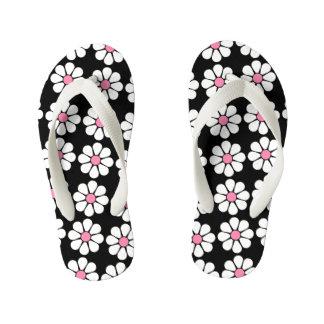 Pretty Pink Daisies Flip Flops