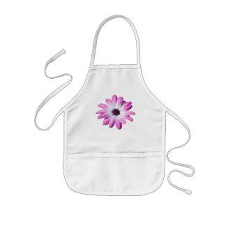 Pretty pink daisy flower kids apron gift idea