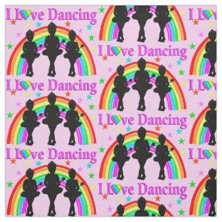 PRETTY PINK DANCING QUEEN FABRIC