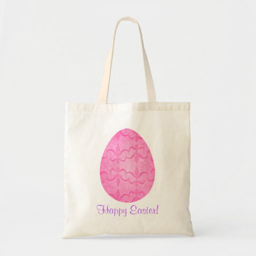 Pretty pink Easter egg Bags