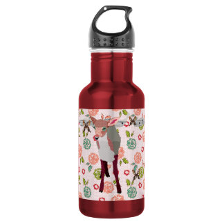 Pretty Pink Fawn Floral Liberty Bottle 532 Ml Water Bottle