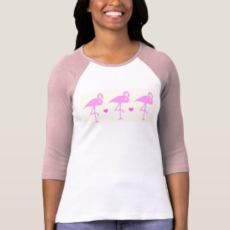 Pretty  Pink Flamingo's Tee Shirt
