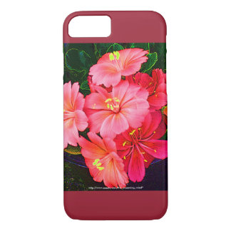 Pretty Pink Floral iPhone 7 Case