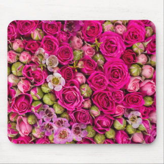 Pretty Pink Flower Image mouse pad