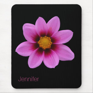 Pretty Pink Flower Mouse Pad